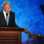 clint eastwood & chair