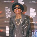 wiz khalifa (at 2012-bet hip hop awards red carpet0