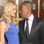 eddie murphy & blonde girlfriend
