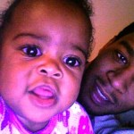 Vada and her father Kid Cudi
