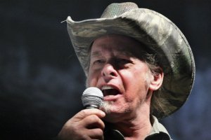 ted nugent (with mic)