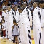 miami heat players & kids