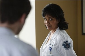"Phylicia Rashad as Dr. Vanessa Young in NBC's ""Do No Harm"""