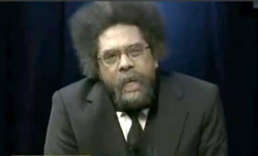cornel west (screenshot)
