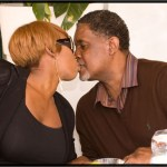 nene and greg smooching