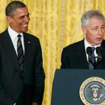 obama &amp; hagel