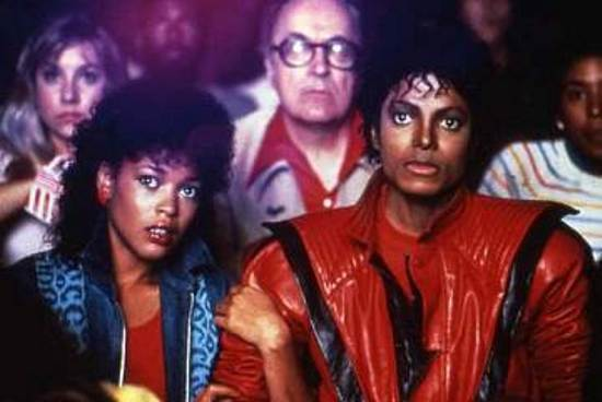 Michael Jackson and Ola Ray in