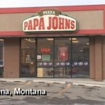 Robber breaks down in tears as he tries to rob a Papa Johns in Helena, Montana, Wednesday, January 23, 2013.