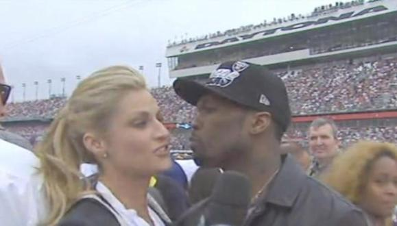 50 cent & erin andrews