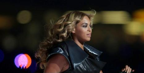 beyonce (at super bowl)