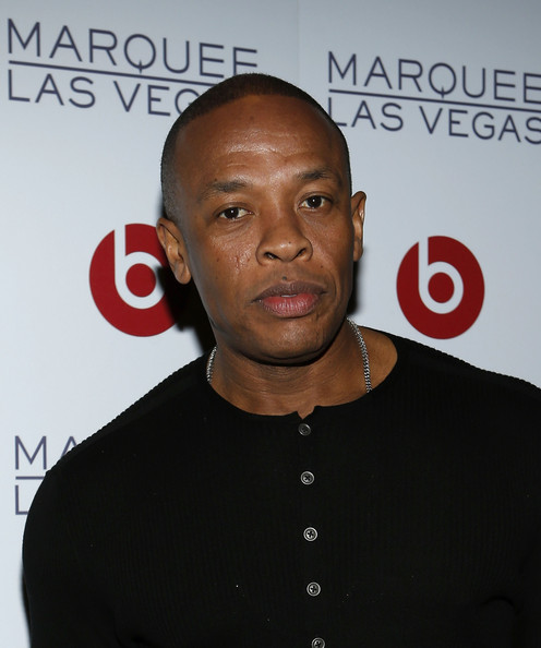 Founder of Beats Electronics, Dr. Dre arrives at the Beats by Dr. Dre CES after-party at the Marquee Nightclub at The Cosmopolitan of Las Vegas on January 10, 2013 in Las Vegas
