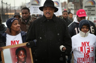 Chicago Community Holds March And Vigil Against Gun Violence