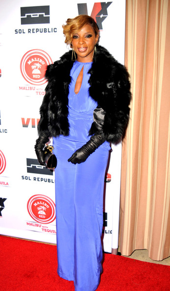 Honoring Music Icon Mary J. Blige at the Sunset Towers in Hollywood. (February 8, 2013)
