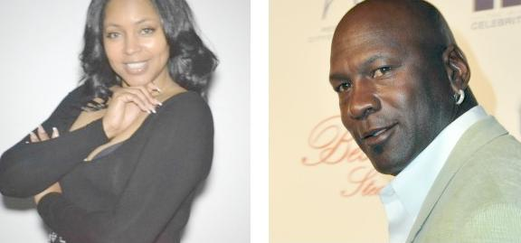 pamela (evette) smith & michael Jordan