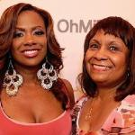 kandi burruss & mother