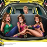 kardashians tied up in car