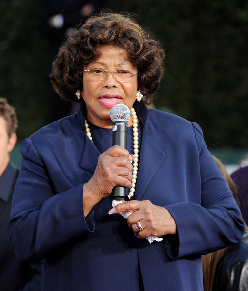 Katherine Jackson appears at the Michael Jackson Hand and Footprint ceremony at Grauman's Chinese Theatre on January 26, 2012 in Los Angeles