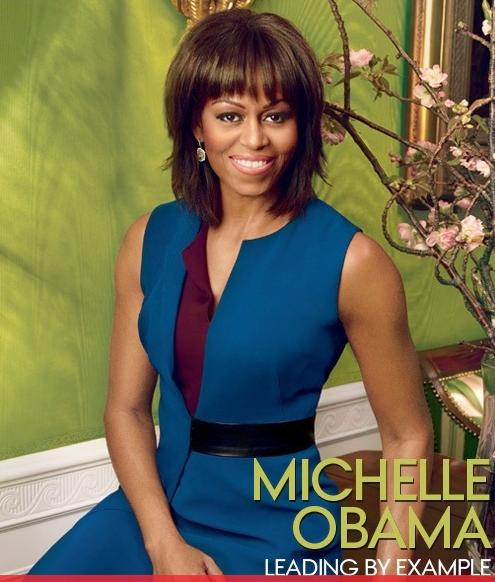 michelle obama (vogue cover)