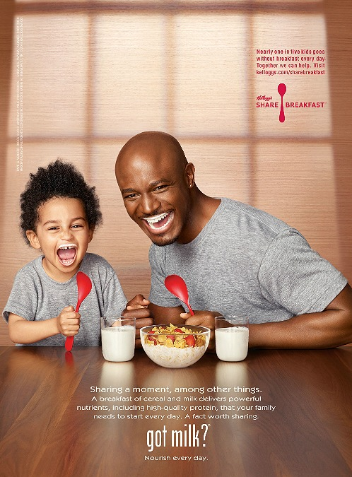 taye diggs got milk