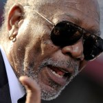 "Morgan Freeman attends the Los Angeles premiere of ""Oblivion"" at the Dolby Theatre in Hollywood (April 10, 2013_"