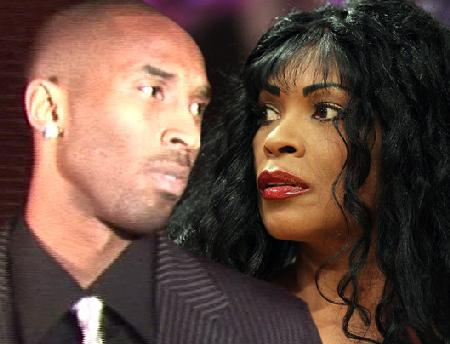 kobe bryant & mother (pamela bryant)
