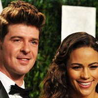 Robin Thicke Cheated on Paula With Their Threesome Partner?