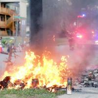Ferguson Erupts Again Over Burned Michael Brown Memorial; 5 Arrested