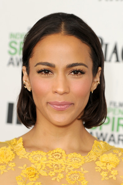 Actress Paula Patton attends the 2014 Film Independent Spirit Awards at Santa Monica Beach on March 1, 2014 in Santa Monica, California