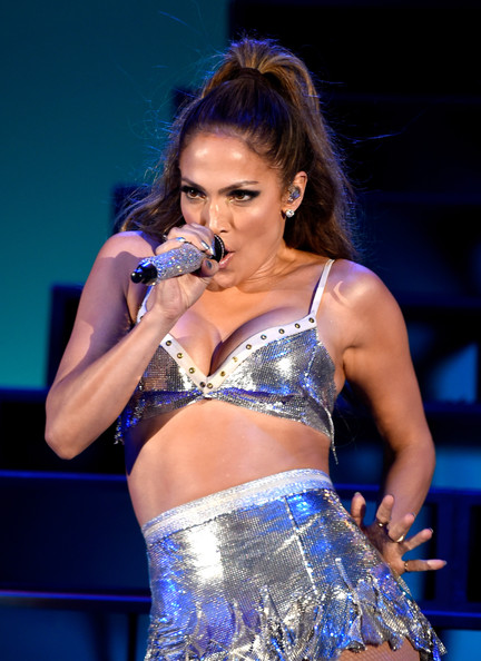 Singer Jennifer Lopez performs onstage during We Can Survive 2014 at the Hollywood Bowl on October 24, 2014 in Los Angeles, California