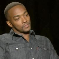 Exclusive! Anthony Mackie Rips Reporter of His 'Dreadlocks/Profiling' Comments (Watch)