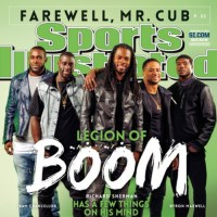 Seahawks' Richard Sherman, Legion of Boom Cover Sports Illustrated