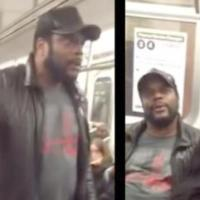 Actor Chad Coleman ('Walking Dead') Freaks Out on Subway (WATCH)