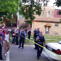 Chicago Police Tow Car With Deceased Bodies Inside...Public Raises Hell! (Watch)