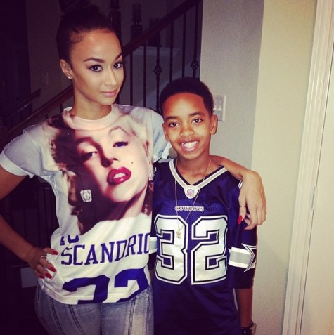 draya and her son