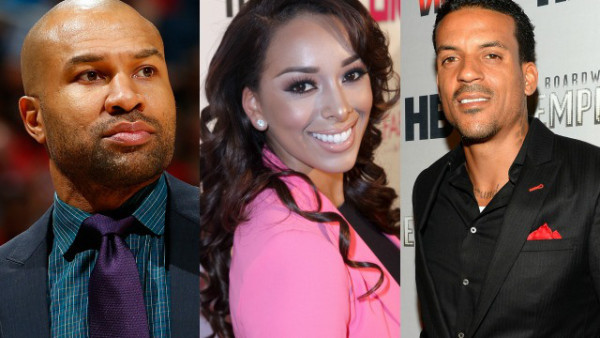 matt-barnes-derek-fisher and gloria govan