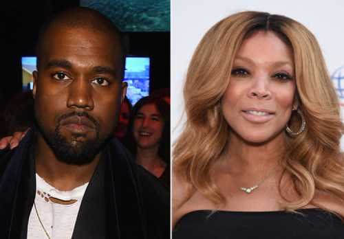 Kanye West and Wendy Williams