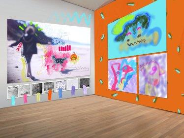 Digital Installation, 2016, Evangeilne Cachinero