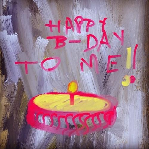 Happy birthday to me! #birthday #candle