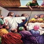 Comentario al evangelio de Marcos 2 2, 1-12 VII domingo tiempo ordinario. ¿qué es más fácil perdonar o sanar? Audio mp3