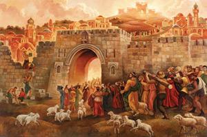 Salmo 77 (78),1-2.34-38. Martes 3 de Mayo de 2016. Festividad de la Santa Cruz en la República Mexicana.