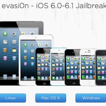 Evasion 1.1 update to Jailbreak iOS 6.1