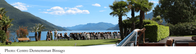 location per matrimonio in ticino - Centro Danneman di Brissago