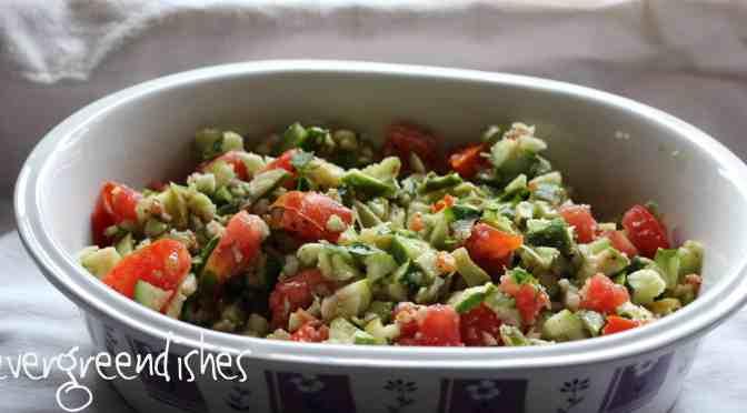 Two way Crunchy salad