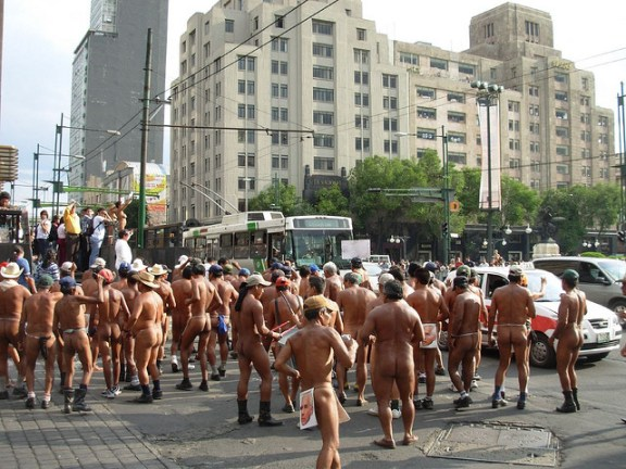 nude-protest-mexico-city