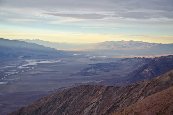 Dante's View at Sunset, Death Valley National Park