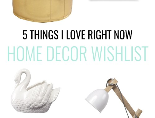 See some of the top things on my home decor wish list right now. Into Scandi style with a bit of country rustic? This is for you!
