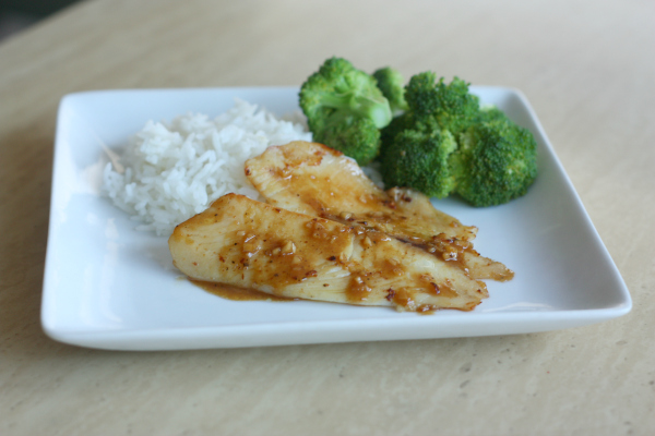 Sweet & Spicy Tilapia