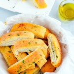 Domino's Style Garlic Bread Sticks | Easy Garlic Bread Recipe