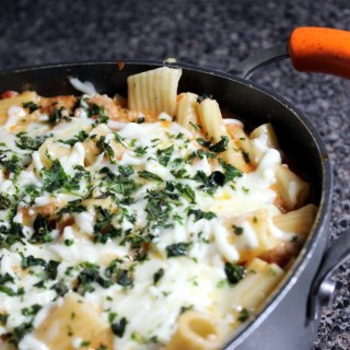 This One Pan Ziti is so tasty and so easy to make. It's one of our favorites!   EverydayMadeFresh.com