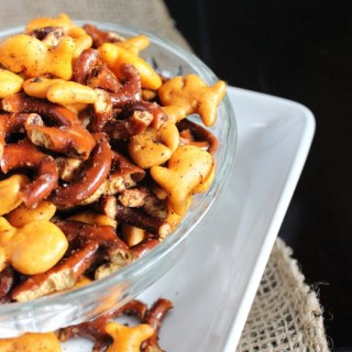 This Taco Snack Mix is crunchy, savory, and irresistible!   EverydayMadeFresh.com